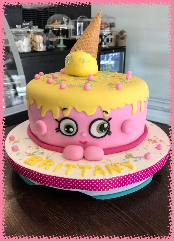 Tårta med glasstrut